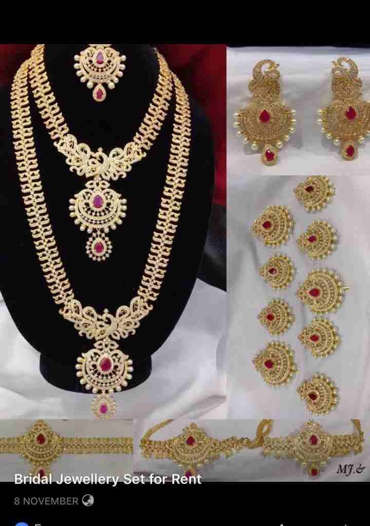 South Indian Bridal Jewelry Sets Buy Rent For Wedding