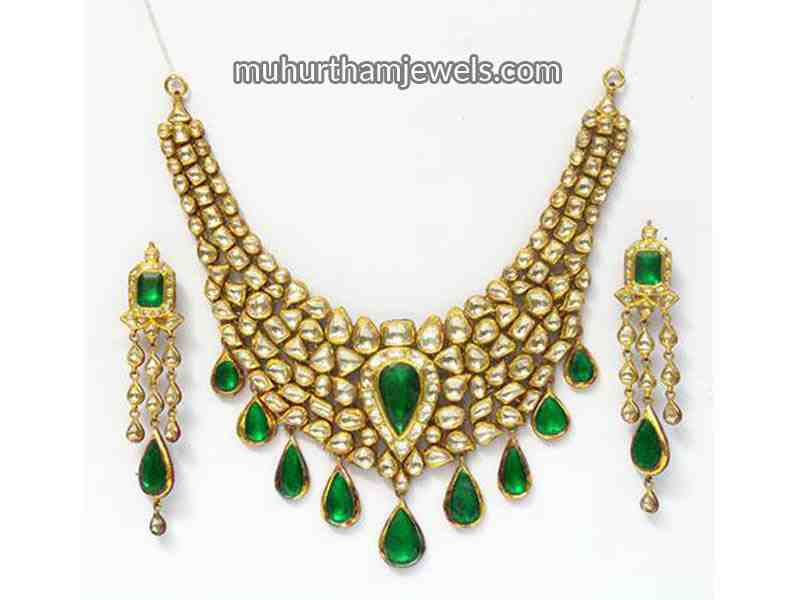 Types of indian bridal jewelry muhurtham jewels for East indian jewelry online
