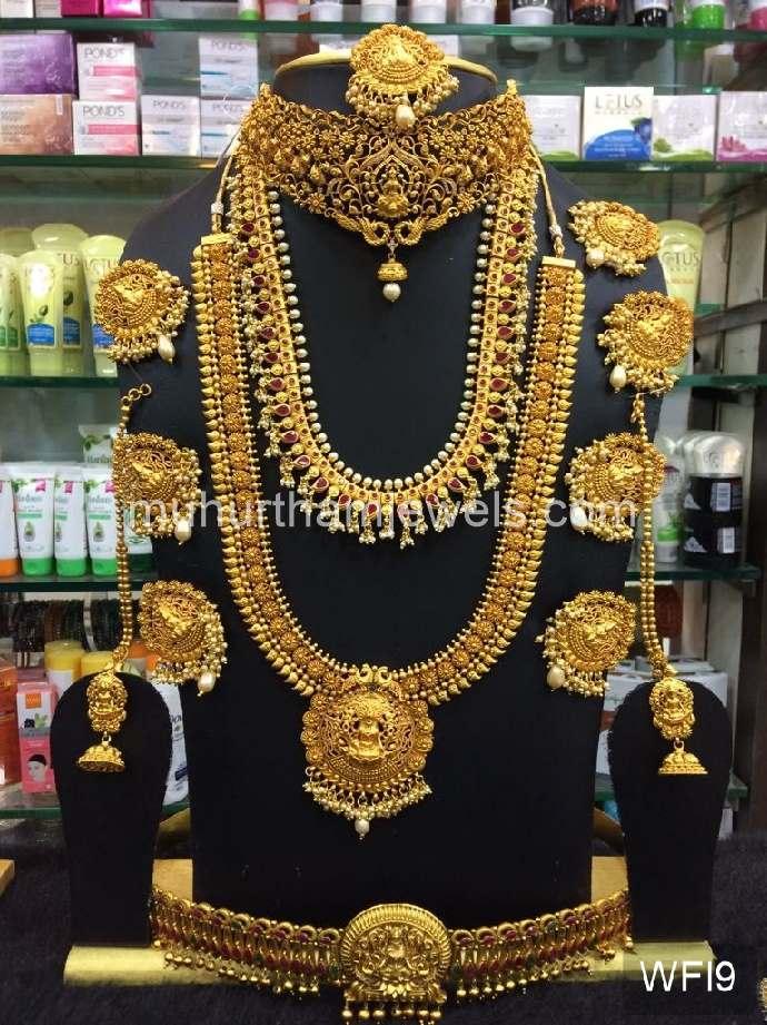 Wedding Jewellery Sets For Rent Wfi9 Muhurtham Jewels