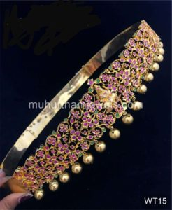 Wedding Jewellery Sets for Rent -WT15