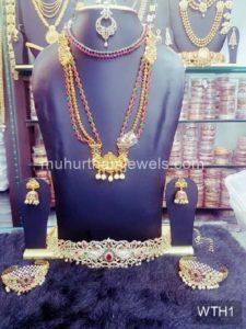 Wedding Jewellery Sets for Rent -WTH1