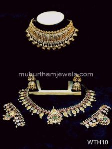 Wedding Jewellery Sets for Rent -WTH10