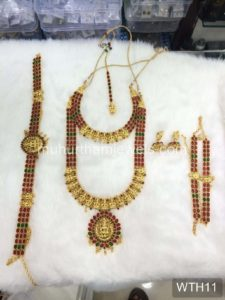Wedding Jewellery Sets for Rent -WTH11