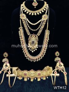Wedding Jewellery Sets for Rent -WTH12