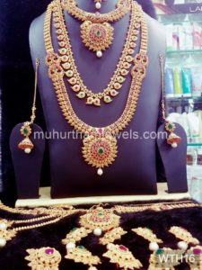 Wedding Jewellery Sets for Rent -WTH16