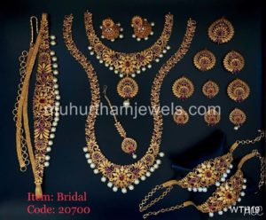 Wedding Jewellery Sets for Rent -WTH19