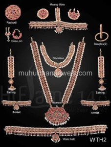 Wedding Jewellery Sets for Rent -WTH2