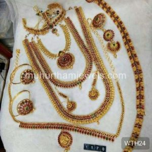Wedding Jewellery Sets for Rent -WTH24