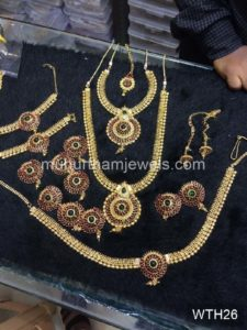 Wedding Jewellery Sets for Rent -WTH26