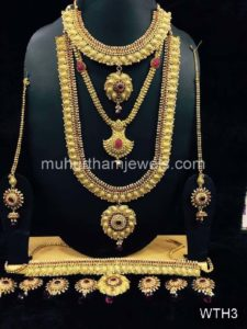 Wedding Jewellery Sets for Rent -WTH3