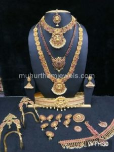 Wedding Jewellery Sets for Rent -WTH30