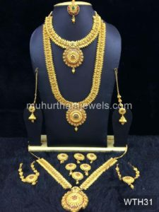 Wedding Jewellery Sets for Rent -WTH31
