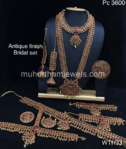 Wedding Jewellery Sets for Rent -WTH33