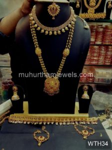 Wedding Jewellery Sets for Rent -WTH34