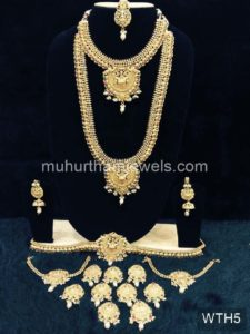 Wedding Jewellery Sets for Rent -WTH5