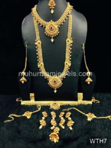 Wedding Jewellery Sets for Rent -WTH7