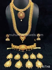 Wedding Jewellery Sets for Rent -WTH8