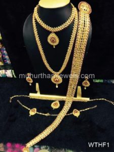 Wedding Jewellery Sets for Rent WTHF1