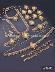 Wedding Jewellery Sets for Rent WTHF2