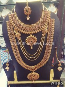 Wedding Jewellery Sets for Rent WTHF5
