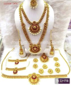 Wedding Jewellery Sets for Rent WTHF9