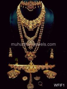 Temple Jewelry Sets for Rent - WFIF1