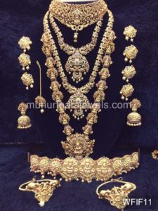 Temple Jewelry Sets for Rent - WFIF11