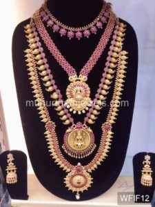 Temple Jewelry Sets for Rent - WFIF12