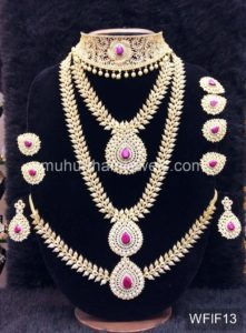 Temple Jewelry Sets for Rent - WFIF13