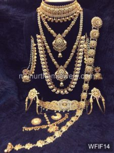 Temple Jewelry Sets for Rent - WFIF14