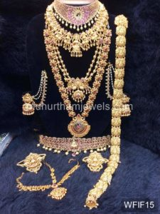 Temple Jewelry Sets for Rent - WFIF15