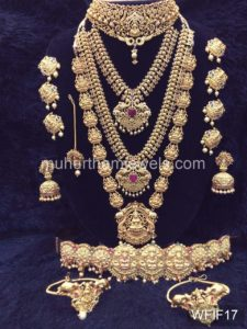 Temple Jewelry Sets for Rent - WFIF17