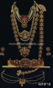 Temple Jewelry Sets for Rent - WFIF18