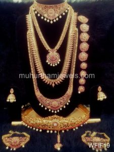 Temple Jewelry Sets for Rent - WFIF19