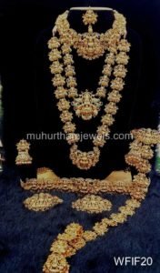 Temple Jewelry Sets for Rent - WFIF20