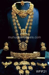 Temple Jewelry Sets for Rent - WFIF21