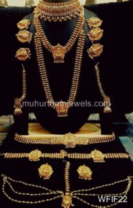 Temple Jewelry Sets for Rent - WFIF22