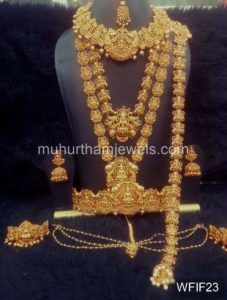 Temple Jewelry Sets for Rent - WFIF23