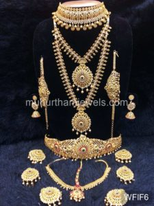 Temple Jewelry Sets for Rent - WFIF6
