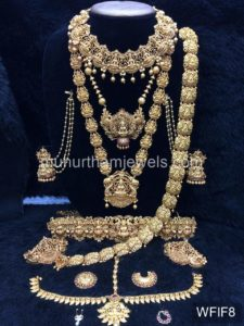 Temple Jewelry Sets for Rent - WFIF8